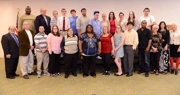 Spring POWER Program graduates and their supporters. Photo by Sandi Yanisko