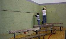 painting the corner