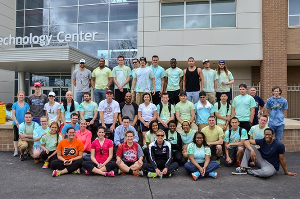 ESW 5K Students and participants. Photo by Matt Carlin