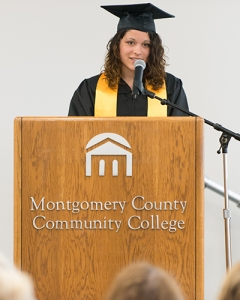 Ne'Cole Casalena, Phoenixville High School, was selected as valedictorian.